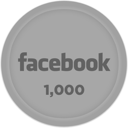 Silver Facebook