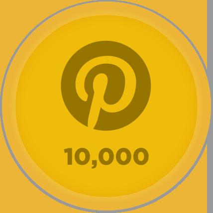 Gold Pinterest