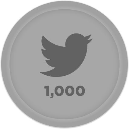 Silver Twitter