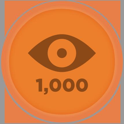 1,000 Views